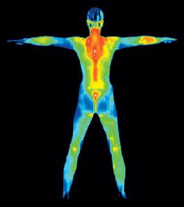body heat phone charging