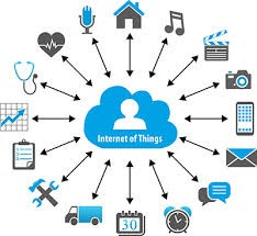 internet of things blue